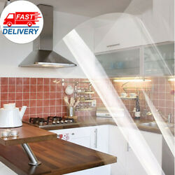 Clear Self Adhesive Paper Vinyl Kitchen Oil Proof Furniture Protector Sticker US $19.88