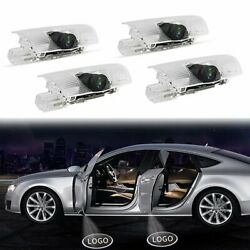 4xCar Door LED Light Projector Ghost Shadow Lights Lamp for Lexus RXESGXLSLX $21.99