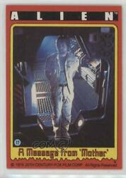 1979 Topps Alien A Message from Mother #17 4f0 $1.06