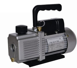 New - 6.0 CFM   Two 2 Stage 12HP  Vacuum Pump  AIR CONDITIONER REFRIGERATION  $139.95
