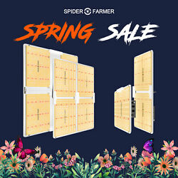 Spider Farmer Dimmable 1000W 2000W 4000W LED Grow lights Grow Tent Indoor Grow $79.99