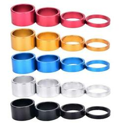 4pcs Aluminum Alloy Bicycle Headset Washer Cycling MTB Bike Fork Stem Spacers $4.43