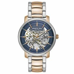 Kenneth Cole New York Men's Automatic Two Tone Stainless Steel Watch KC50776022 $79.99