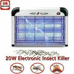 Lamp Insect Killer Mosquito Zapper Bug Pest Fly Trap Electric Indoor Light Lawn $29.98