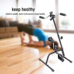 Indoor Adjustable Fitness Bicycle Physical Therapy Machine Arm Leg Exercise Bike $46.63