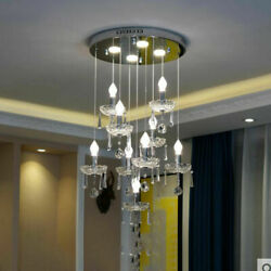 LED Simple Dining Room Bedroom Staircase Hallway Hanging Lamp Crystal Lighting W $240.00