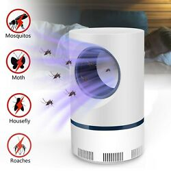 Safe Electric Mosquito Killer Lamp Indoor Fly Bug Insect Zapper Trap LED Light $13.59