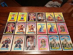 1986 TOPPS GARBAGE PAIL KIDS SERIES 3 COMPLETE SET wax wrapper $35.00