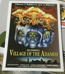 NYCC 2019 Exclusive VILLAGE OF THE ADAMED Promo Card TOPPS Garbage Pail kids GPK $49.95
