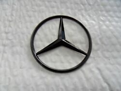 New for Mercedes Benz Gloss Black Star Trunk Emblem Badge 90mm - Free US Ship $9.78