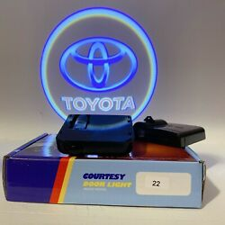 2pcs Door Logo Light LED Laser Projector Step Courtesy Welcome Ghost For toyota $16.99