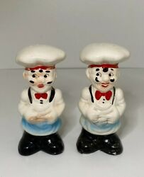Vintage Italian Chefs Salt amp; Pepper Shakers Vintage Salt And Pepper Shakers $8.00
