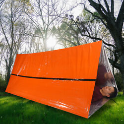 Emergency Survival Tent Waterproof Thermal Blanket Rescue Shelter Foldable New $9.99