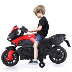 Kids Electric Motorcycle Car 6V Bike Battery Powered 4 Wheel Ride On Toy Car $59.99