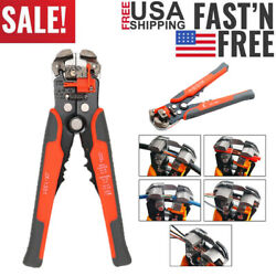 Wire Stripper Cable Cutter Crimper Wire Pliers Automatic Multifunctional Pliers $11.99