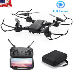 Remote FPV WiFi Drone With HD Camera Aircraft Foldable Quadcopter Selfie Toy NEW $44.99