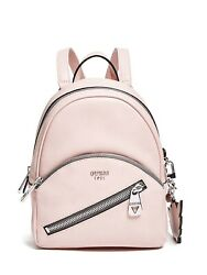 Guess Bradyn Small Backpack Wing Heart Soft Pink Brand New Leather Backpack $40.00