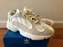 adidas Yung 1 Cloud White B37616 RUNNING WHITE RUNNING WHITE CLOUD NEW $95.00