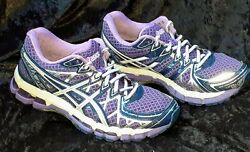 Asics Gel-Kayano 20 Women's Size 7.5 Athletic Running Walking Shoe PurpleWhite  $38.89