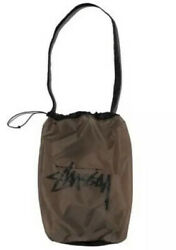 Stussy iris bag sack medium small with shoulder strap unisex New with tag $25.00