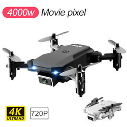 FPV Wifi RC Drone With HD Camera Aircraft Foldable Quadcopter Selfie Toys $23.99
