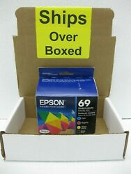 Epson Ink 69 Genuine New *** SHIPS OVERBOXED *** T069120-BCS Date: Jul 2022 + $54.95