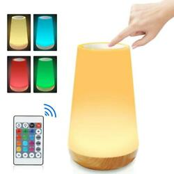 Table Lamp Touch Night Light Portable Sensor Remote Control Bedside Lamps QIN $18.99