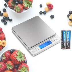 0.1g Electronic Digital Kitchen Food Cooking Weight Balance Scale Accurate $9.88