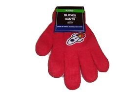 Small Red Kids#x27; Winter Gloves Rocket ship $6.75