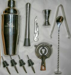 11 piece Bartender Cocktail Shaker Set Stainless Steel $24.99