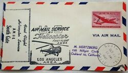 UNITED STATES 1947 HELICOPTER A. M. 84 FIRST FLIGHT SOUTH GATE CALIFORNIA COVER GBP 6.99