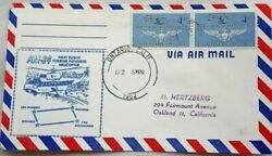 UNITED STATES 1962 HELICOPTER A. M. 84 FIRST FLIGHT ONTARIO CALIFORNIA COVER GBP 6.99