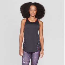 Champion C9 Women#x27;s Duo Dry Black Running Reflective Breathable Tank Top New $12.59