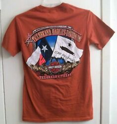 Texarkana Texas Harley Davidson T Shirt Adult S Small HD $16.95