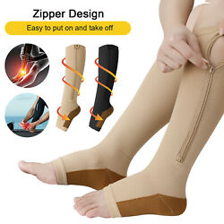 5 Pair Compression Socks Relief Stockings Graduated Support 20 30mmHg Men Woman $7.58