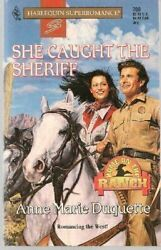 She Caught the Sheriff by Anne Marie Duquette 1996 Harlequin Super Romance