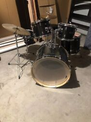 SPF Drum set with symbols and seat great condition $130.00