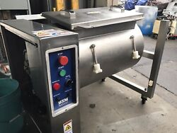 Meat Poultry Tumbler Marinator NSF 304 HEAVY DUTY STAINLESS STEEL MADE IN USA $4950.00