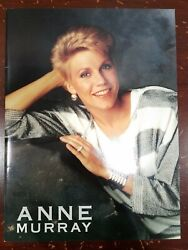 Anne Murray Vintage 1988 Tour Program Beautiful Photos Absolutely Mint Condition $17.00