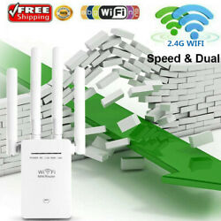 WiFi Extender Signal Range Booster Wireless 1200Mbps Dual Band Network Repeater $21.99