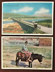 Lot of Two 2 1920s MEXICO Views PC#x27;s by Lower California Commercial Inc.