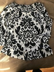 INC international concepts Women's Blouse Medium