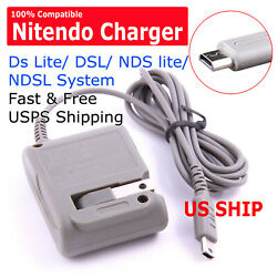 New AC Adapter Home Wall Charger Cable for Nintendo Ds Lite DSL NDS lite NDSL $4.75