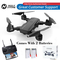 Holy Stone Foldable RC Drones with HD Camera WIFI FPV Quadcopter Altitude Hold $45.99