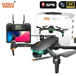 Drone 4K GD91 Pro w/ 2 axis gimbal stabilizer, GPS & Optical Flow, triple camera $265.00