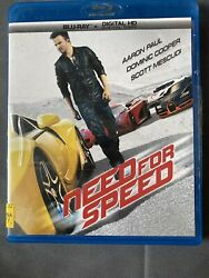 Need For Speed Blu-ray $9.50
