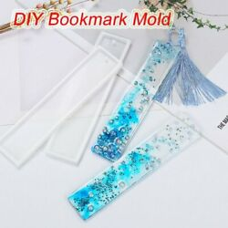 Silicone Epoxy Resin Mold Bookmark DIY Jewelry Making Tool Mould Handmade Craft $1.65