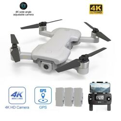 Holy Stone HS510 foldable FPV Drone 4K HD wifi Camera quadcopter GPS tapfly case $169.95