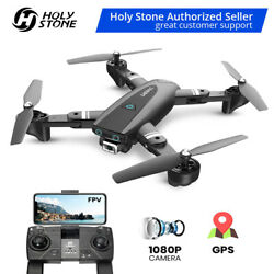 Foldable FPV Selfie Drones with 1080P hd Camera video Quadcopter GPS Return Home $95.99