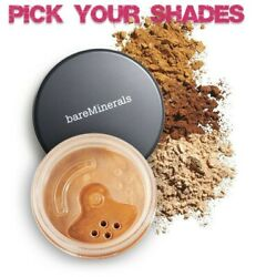 Pick your Shade BareMinerals Original Foundation Escentuals Large Size Jar $7.99